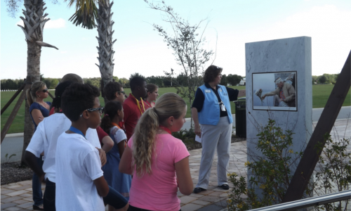 Patriot Plaza tours: a year of education and inspiration